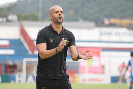 Treinador está no clube do interior catarinense desde 2017 (Lucas Gabriel Cardoso/Brusque FC)