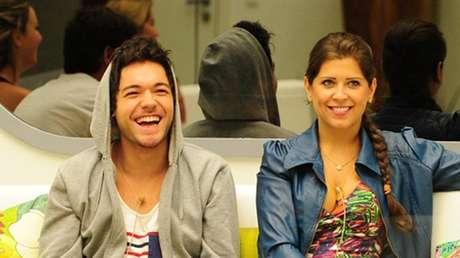 Andressa e Nasser no BBB13. TV Globo/Reprodução