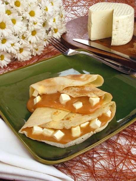 Guia da Cozinha - Café da manhã especial: receita de panqueca agridoce