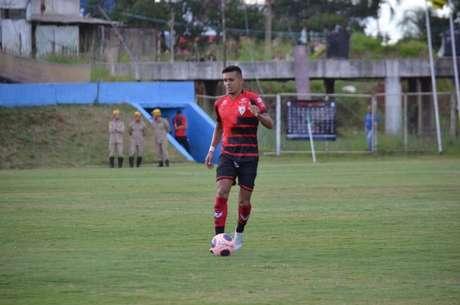Igor Cárius avançou de fase com o Dragão na Copa do Brasil (Foto: Divulgação/Atlético-GO)