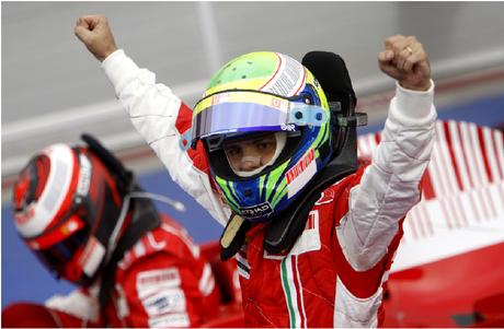 Felipe Massa superou os adversários e venceu no Bahrein.