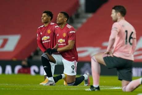 Martial está em baixa no Manchester United e pode deixar o clube (Foto: TIM KEETON/POOL/AFP)