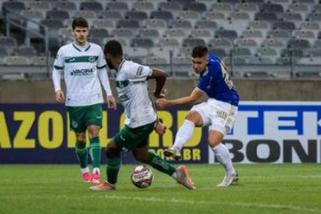 O time azul não conseguiu vencer na Série B, mas marcou seu primeiro ponto na competição-(Gustavo Aleixo/Cruzeiro)