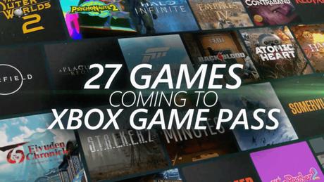 Microsoft anunciou 27 jogos para Xbox Game Pass na E3 2021