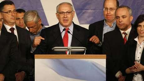 Benjamin Netanyahu é a principal figura do partido de direita Likud