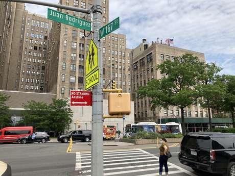 Embora o nome de Juan Rodríguez apareça em um trecho da avenida Broadway, muitos ainda ignoram sua história
