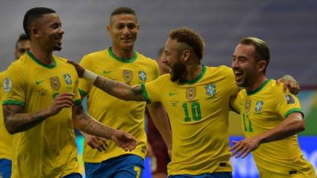 Seleção venceu a Venezuela na abertura da Copa América (NELSON ALMEIDA / AFP)