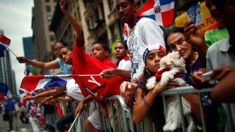 Em Nova York há uma forte presença dominicana