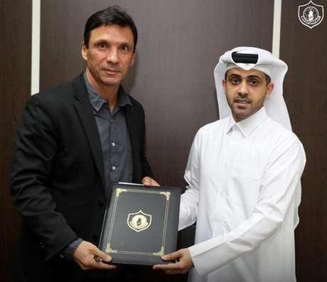 Zé Ricardo é o mais novo treinador do Qatar SC (Divulgação)