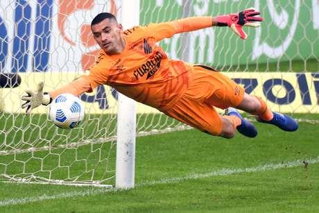Athletico-PR  venceu o Grêmio  por 1 a 0 pela terceira rodada do Campeonato Brasileiro