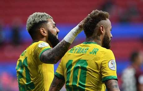 Brasil vence a Venezuela em estreia na Copa América neste domingo (13)