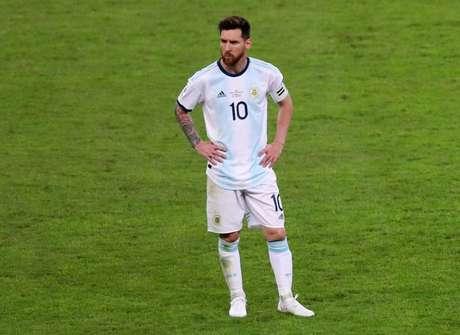 Lionel Messi durante semifinal da Copa América de 2019 entre Brasil e Argentina 02/07/2019 REUTERS/Pilar Olivares