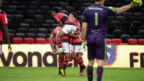 Pela 3ª rodada do Brasileiro, Flamengo venceu o América-MG por 2 a 0 (Foto: Alexandre Vidal / Flamengo)