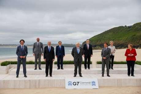 Cúpula do G7 na Cornualha