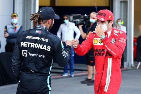 Lewis Hamilton exaltou os jovens pilotos e previu uma geração gloriosa para a F1