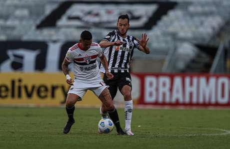 São Paulo não jogou bem contra o Atlético-MG (Foto: Pedro Souza / Atlético)