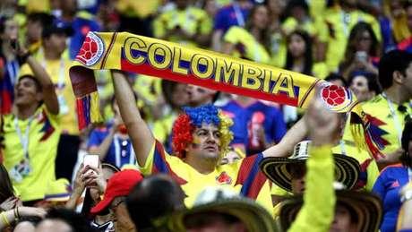 Colombianos viajaram ao Brasil para acompanharem a Copa América (Foto: Divulgação/FCF)