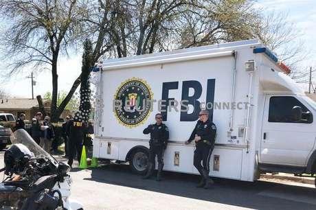 Agentes do FBI em Austin, no Estado norte-americano do Texas 13/03/2018 REUTERS/Jon Herskovitz