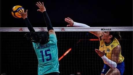Brasil passa fácil pela seleção tailandesa