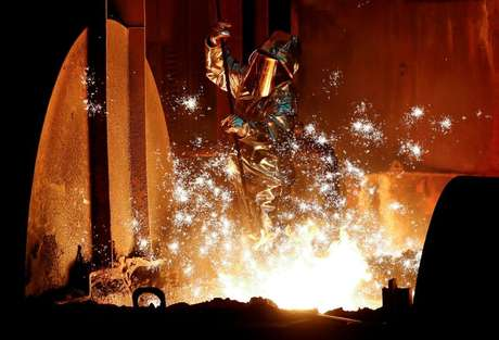 Conglomerado industrial alemão ThyssenKrupp AG  January 28, 2019. REUTERS/Wolfgang Rattay/File Photo
