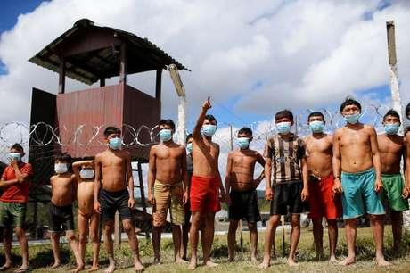 Índios Ianomâmi em Alto Alegre, Roraima 01/07/2020 REUTERS/Adriano Machado