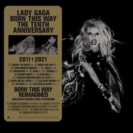 A edição especial do álbum Born This Way The Tenth Anniversary tem lançamento programado para o próximo dia 25 de junho