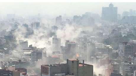 Cerca de 300 pessoas morreram no terremoto de 19 de setembro de 2017 na Cidade do México