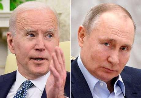 Joe Biden e Vladimir Putin vão se reunir na próxima quarta-feira (16)