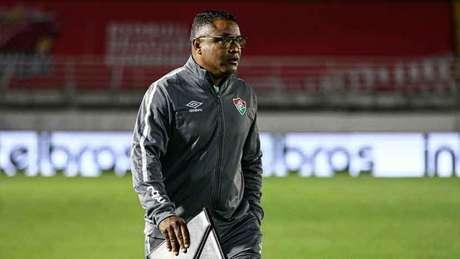 Roger Machado é o técnico do Fluminense (Foto: Lucas Merçon/Fluminense FC)