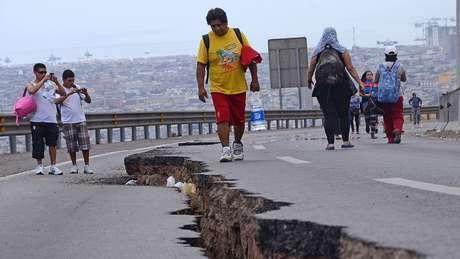 O abalo sísmico de magnitude 8,2 em Iquique, no Chile, também foi precedido por um terremoto lento