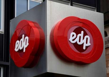 Logo da EDP fotografado em Oviedo, Espanha  14/05/2018 REUTERS/Eloy Alonso