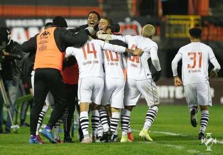 Vasco venceu no sábado, mas a atuação foi novamente criticada nas redes sociais (Foto: Rafael Ribeiro/Vasco)