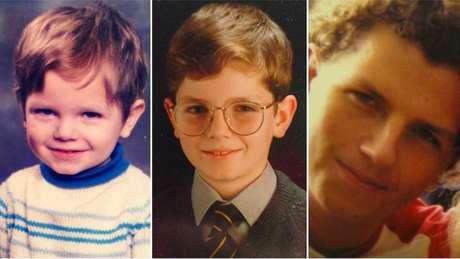 Thomas Leeds quando criança, estudante e adolescente