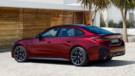 Novo BMW Série 4 Gran Coupé deve chegar ao Brasil só em 2022.