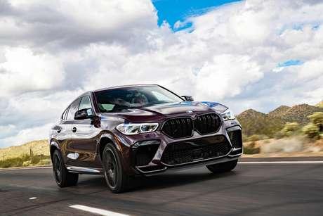 BMW X6 M Competition chega ao Brasil por R$ 1.018.950.