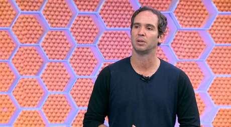 Caio Ribeiro foi condenado pela Justiça por dívida com o Bradesco (Foto: Reprodução/TV Globo)