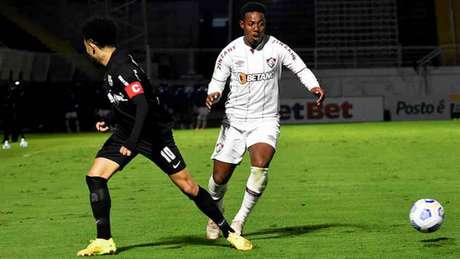 Wellington foi escolhido para substituir Martinelli contra o Bragantino (Foto: Mailson Santana/Fluminense FC)