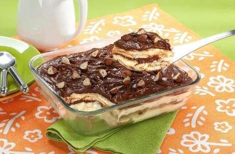 Guia da Cozinha - Receita de pavê de Nutella® fácil e saborosa