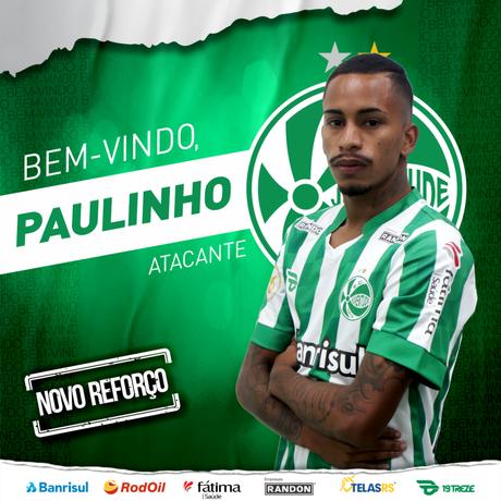 Aos 22 anos, Paulinho Boia defende seu terceiro clube por empréstimo (Foto: Divulgação)
