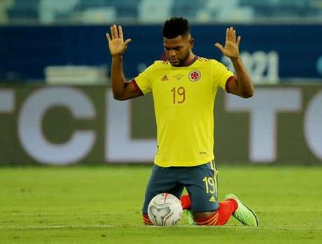 Borja está disputando a Copa América pela Colômbia
