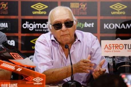 Milton foi reeleito há apenas dois meses no cargo executivo máximo do Leão (Anderson Stevens/Sport)