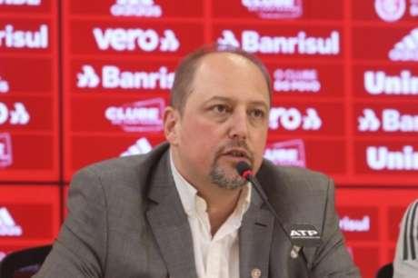 Mandatário falou sobre liga (Ricardo Duarte/Divulgação/Internacional)