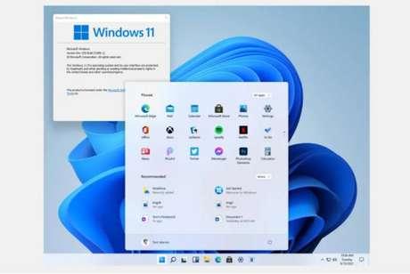 Suposta interface do Windows 11, que foi publicada em fóruns na internet