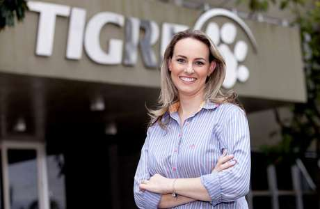 Patrícia Bobbato, diretora de pessoas, comunicação interna e sustentabilidade da Tigre.