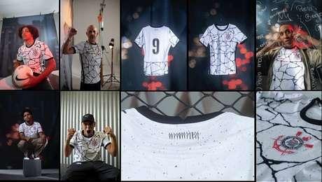 Inspirado pela quebra de barreiras, Corinthians apresenta nova camisa nesta quarta-feira
