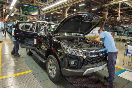 Fábrica de São José dos Campos produz os modelos Chevrolet S10 e Trailblazer.
