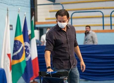 Sérgio tenta amenizar a pressão em sua gestão e encaminhar ajustes no Cruzeiro-(Igor Sales/Cruzeiro)