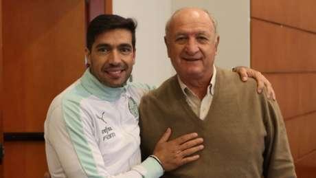 Abel Ferreira e Felipão juntos novamente (Foto: César Greco)