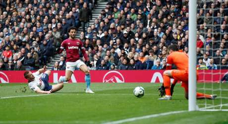 Felipe Anderson pertence ao West Ham, da Inglaterra (Foto: Reprodução)