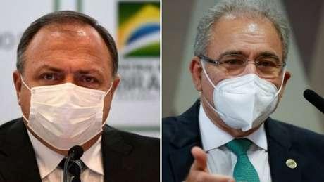 Pazuello e Queiroga não souberam nem dizer que são os profissionais de saúde que orientam as decisões do ministério, afirma senador